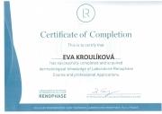Certifikace od Laboratoires Renophase
