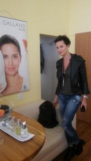 Míša Salačová vyzkoušela nové ošetření Cocoon ve studiu SlimFOX.
