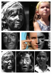 Umělec Thomas Leveritt se rozhodl upozornit na škodlivost slunečního záření po svém.