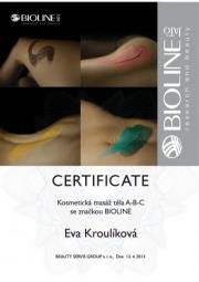 Certifikát ABC tělo