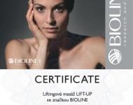 Certifikát LiftUp