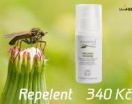 Repelent, 100% BIO, příjemná vůně levandule, tymiánu a citrónové trávy.