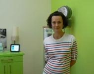 Michaela Salačová v salonu SlimFOX