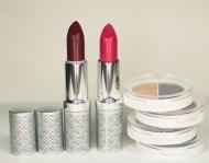 Rtěnky Passion Pink a Berry Crush s kompaktími stíny