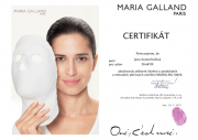 Certifikát pro ošetření s modelační maskou MG