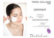 Certifikát pro ošetření Thalasso od Maria Galland