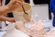 Nanášení modelační masky Maria Galland u SlimFOX