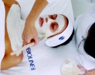 Nanášení exfoliační masky