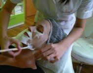 Atypické nanášení masky