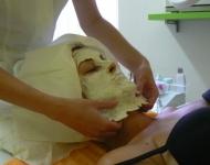 Postupné slupování alginátové masky