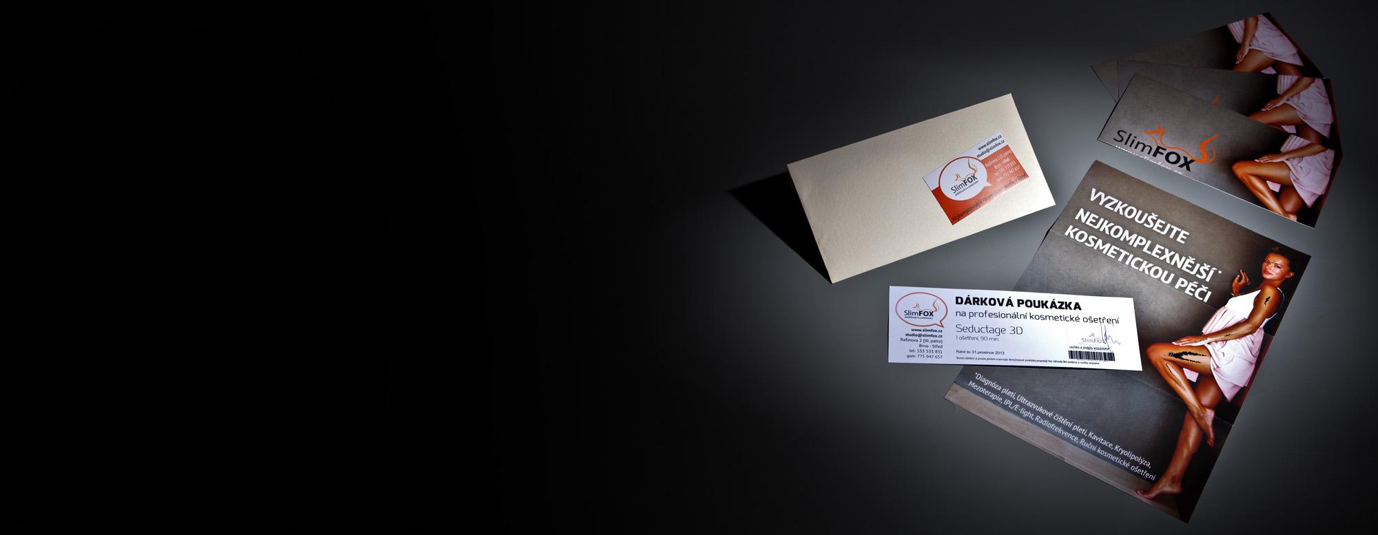 Dárkové poukazy SlimFOX