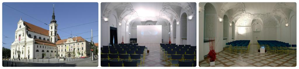 Místodržitelský palác, Moravské náměstí 1a, Brno.