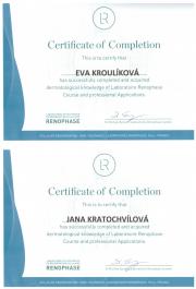 Certifikace pro SlimFOX