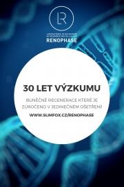 Renophase to je víc jak 30 let výzkumu!