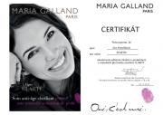 Certifikát Maria Galland CLARITY Eva K.