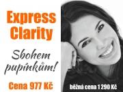 Sbohem pupínky s express Clarity
