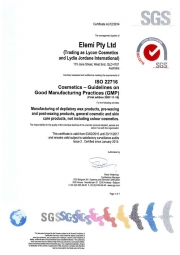 ISO certifikát LYCON