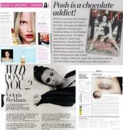Victoria Beckham má oblíbenou čokoládovou verzi vosku.