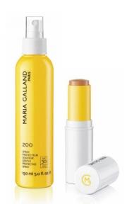 Sprej a  make-up s SPF