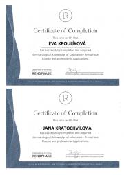 certifikace Renophase pro SlimFOX