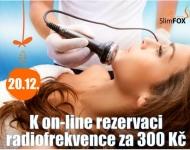20.12. K on-line rezervaci radiofrekvence jen za 300 Kč