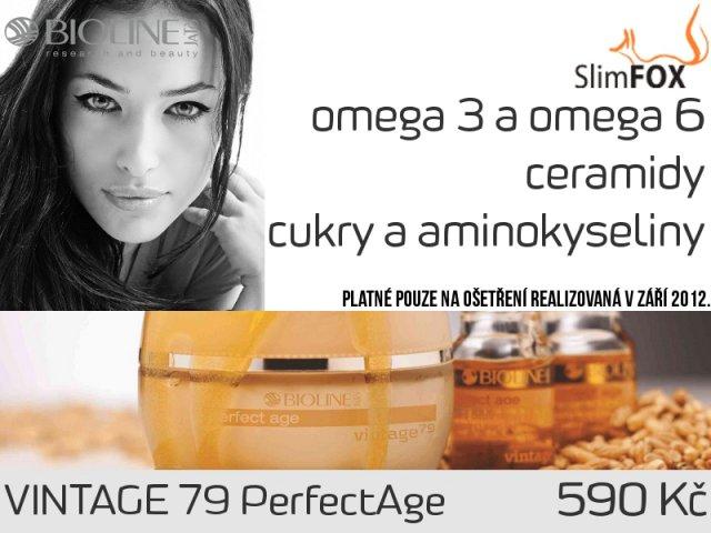Vyživující a zpevňující ošetření BIOLINE Vintage 79 PerfectAge