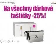 Luxusní dárkové taštičky Maria Galland -25%