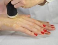 Ošetření hřbetů rukou