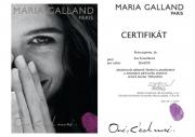 Certifikát pro ošetření oční Thalasso od Maria Galland