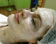 Hydrogelová maska 100B a pěstící maska Precious