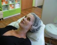 Michaela Salačová při ošetření LIFTING CODE u SlimFOX