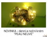 """Nové krémy na domácí použití z řady \""""PEAU NEUVE\"""""""
