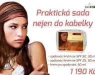Cestovní balíček Sundefence - vhodný nejen na krátké cesty a výlety, ale i do kabelky.