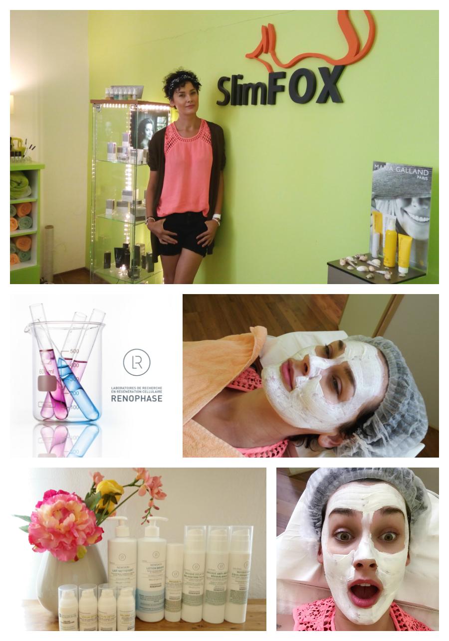Lékařská kosmetika Renophase a hydratační ošetření s Míšou Salačovou u SlimFOX