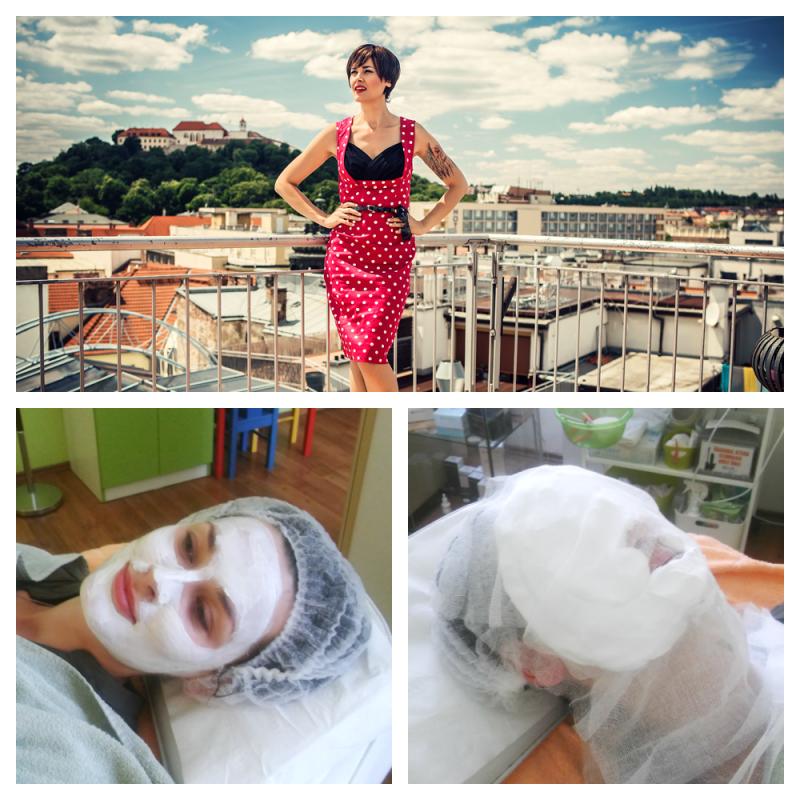 Míša Salačová vyzkoušela kosmetické ošetření Cocoon u SlimFOX