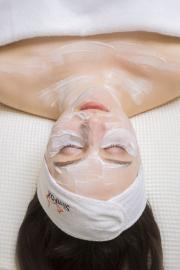 relax s pleťovou maskou