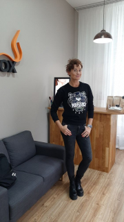 Míša Salačová v salonu SlimFOX