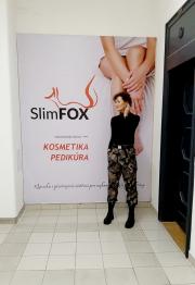 Míša Salačová u SlimFOX
