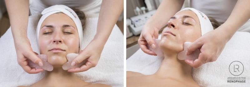 Ošetření Renophase s masáží GUA SHA